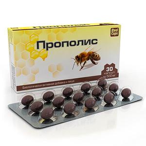 Прополис, 30 капс*500 мг (Real Caps)