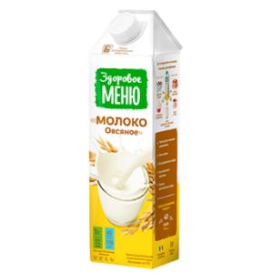 Молоко овсяное, 1 л (Здоровое меню)