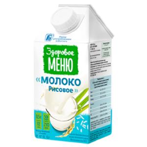 Молоко рисовое, 500 мл (Здоровое меню)