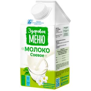 Молоко соевое, 500 мл (Здоровое меню)