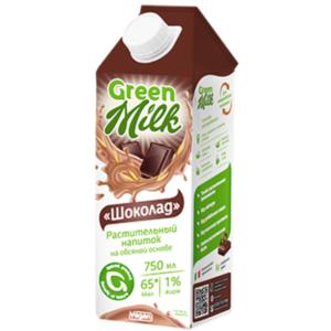 Напиток овсяный с шоколадом, 750 мл (Green Milk)