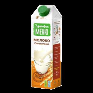 Молоко пшеничное, 1 л (Здоровое меню)