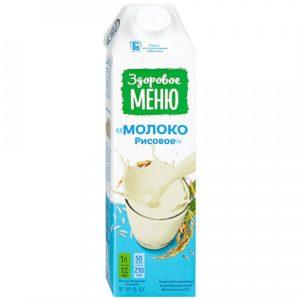 Молоко рисовое, 1 л (Здоровое меню)