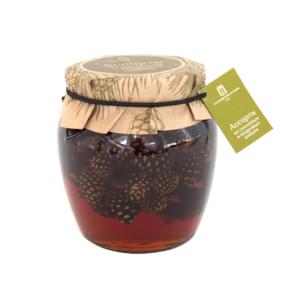 Варенье ассорти из кедровых и сосновых шишек, 620 г (Косьминский гостинец)