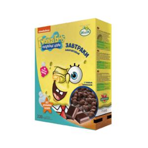 Завтраки амарантовые в шоколадной глазури Губка Боб, 220 г (Di and Di)
