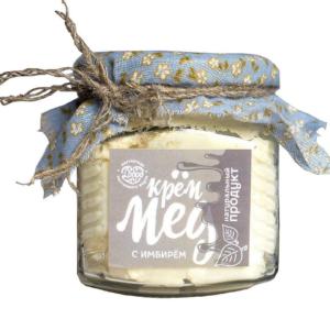 Крем-мёд с имбирём, 270 г (Мастерская Добро)