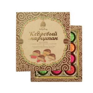 Конфеты Кедровый марципан ассорти, 170 г (Сибирский кедр)