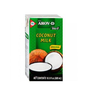 Молоко кокосовое, 500 мл (Aroy-D)