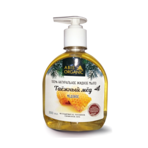 Мыло жидкое натуральное Медовое, 300 мл (Абис)