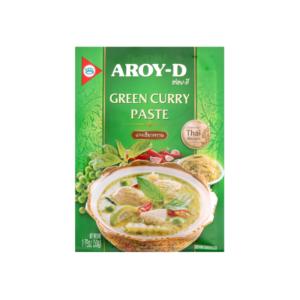 Паста кари зелёная, 50 г (Aroy-D)