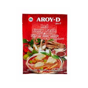 Паста кари красная, 50 г (Aroy-D)