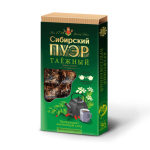 Чай Сибирский пуэр таёжный, 100 г (Иван да)