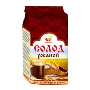 Солод ржаной для напитков и хлеба, 500 г (Дивинка)