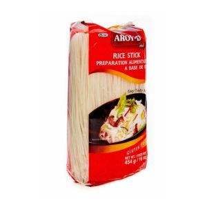 Лапша рисовая 1 мм, 450 г (Aroy-D)