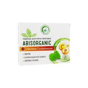 Леденцы пихтовые с витамином С и Р без сахара, 32 г (Абис)