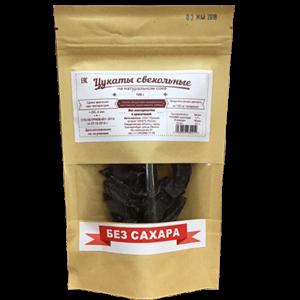Цукаты свёкольные без сахара, 100 г (Русский остров)