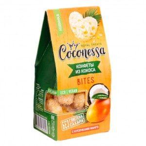 Кокосовые конфеты с манго, 90 г (Coconessa)