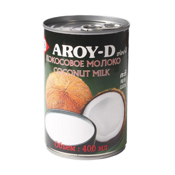 Молоко кокосовое, 400 мл ж/б (Aroy-D)