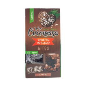 Кокосовые конфеты с какао, 90 г (Coconessa)