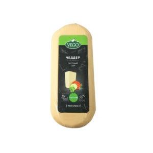 Сыр Чеддер постный, 400 г (Vego)