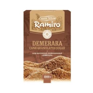 Сахар тростниковый Demerara, 1 кг (Сладкий мир)