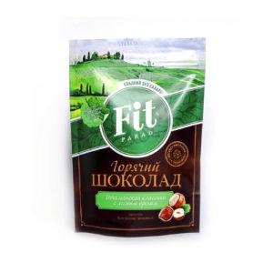 Горячий шоколад с лесным орехом, 200 г (Fit Parad)