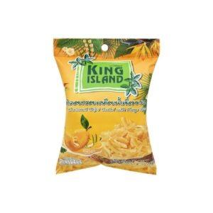 Кокосовые чипсы с манго, 40 г (King Island)