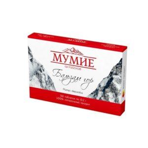 Мумиё, 30 табл*0,2 г (Фармпродукт)