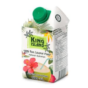 Кокосовая вода без сахара, 500 мл (King Island)