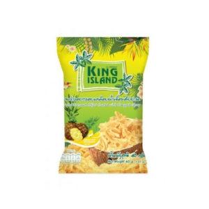 Кокосовые чипсы с ананасом, 40 г (King Island)
