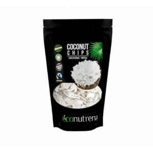 Кокосовые чипсы органические, 150 г (Econutrena)