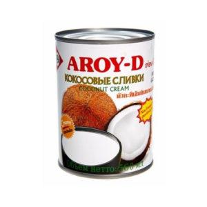 Сливки кокосовые, 560 мл (Aroy-D)