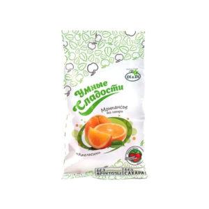 Леденцы без сахара Апельсин, 55 г (Умные сладости)