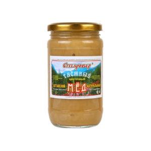 Мёд таёжный, 500 г (Старовер)
