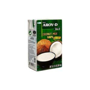 Молоко кокосовое, 250 мл (Aroy-D)