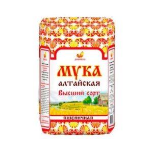 Мука пшеничная высший сорт, 2 кг (Дивинка)