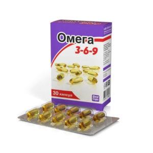 Омега 3-6-9, 30 капс*1600 мг (Real Caps)