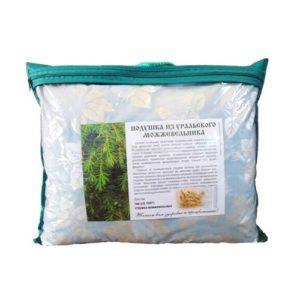 Подушка можжевеловая в упаковке, 40*50 см (ИП Киселёва)