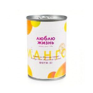 Пюре манго, 430 г (Люблю жизнь)