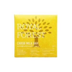 Шоколад из необжаренного кэроба, 75 г (Royal Forest)