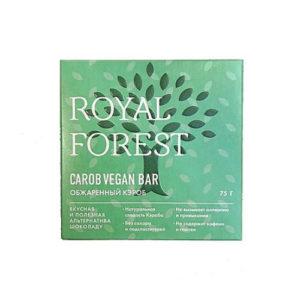 Шоколад из обжаренного кэроба Vegan, 75 г (Royal Forest)