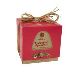 Конфеты кедровый трюфель ассорти из тёмного шоколада, 120 г (Сибирский кедр)