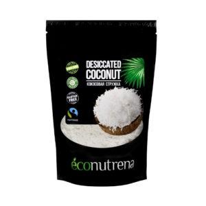 Стружка кокосовая низкой жирности, 150 г (Econutrena)