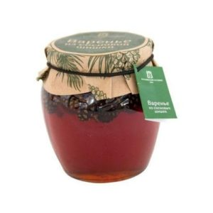 Варенье из сосновых шишек, 620 г (Косьминский гостинец)