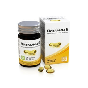 Витамин Е, 30 капс*400 мг (Real Caps)