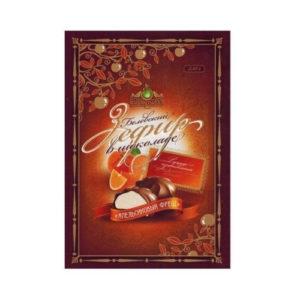 Белёвский зефир в шоколаде Апельсиновый фреш, 250 г (Белёвская сладости)