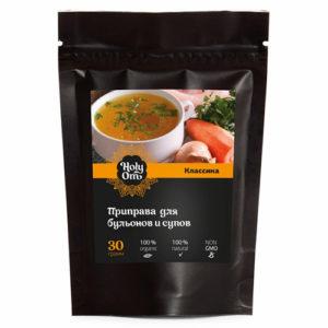 Приправа для бульонов и супов, 30 г (Holy Om)