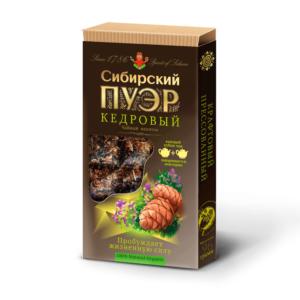 Чай Сибирский пуэр кедровый, 100 г (Иван да)