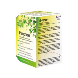 Инулин пищевой, 20 пак*5г (Полинка)