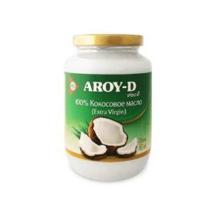 Масло кокосовое (extra virgin), 450 мл (Aroy-D)
